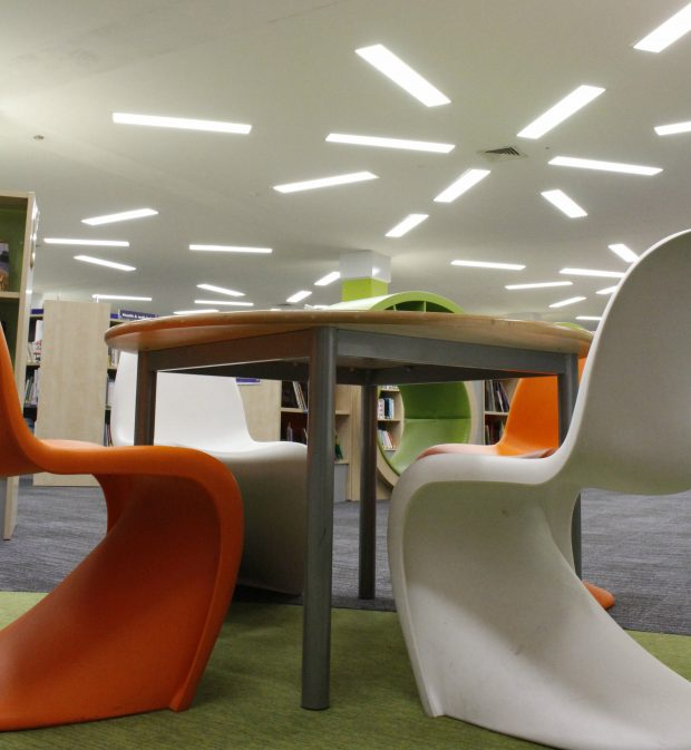 Woking Library Lighting Project